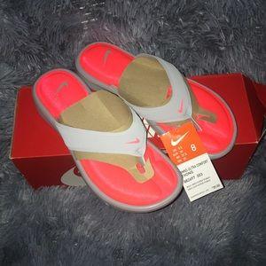 NIB Nike Ultra Comfort Thong Sandals Size 8